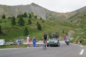 Cyril Gautier del team Europcar ha perso contatto dai fuggitivi