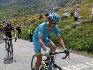 Jakob Fuglsang del Team Astana