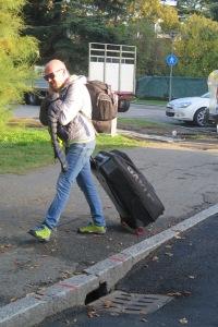 Cristian Valente, massagiatore del Team Tinkoff-Saxo