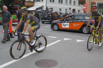 Sylvain Chavanel e Perrig Quemeneur