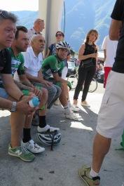 Rinaldo Nocentini e Nicola Toffali